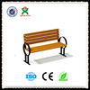Durable cheap garden bench metal leg garden bench wholesale antique wooden garden bench QX-144E
