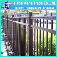 Galvanized Steel Pipe Fence Cheap Wrought