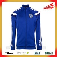 Wholesale Custom blank long sleeve soccer jersey/football jacket