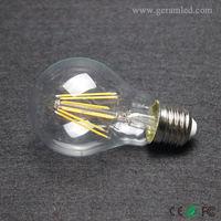 Glass house lighting globe clear led filament light bulbs