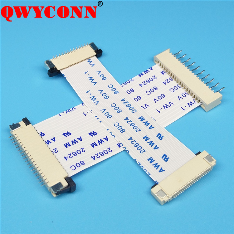 0.3/ 0.5/ 0.8/ 1.0/ 1.25mm Pitch FPC/FFC cable connector