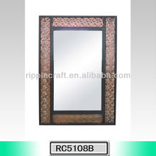 Uttermost Fancy Decorative Metal Framed Mirror