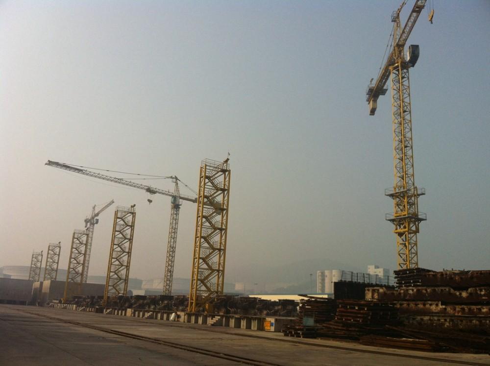 Alibaba Deuxième Main Coefficient De Sécurité Élevé Slef Escalade Construction Utilisé Grue à Tour