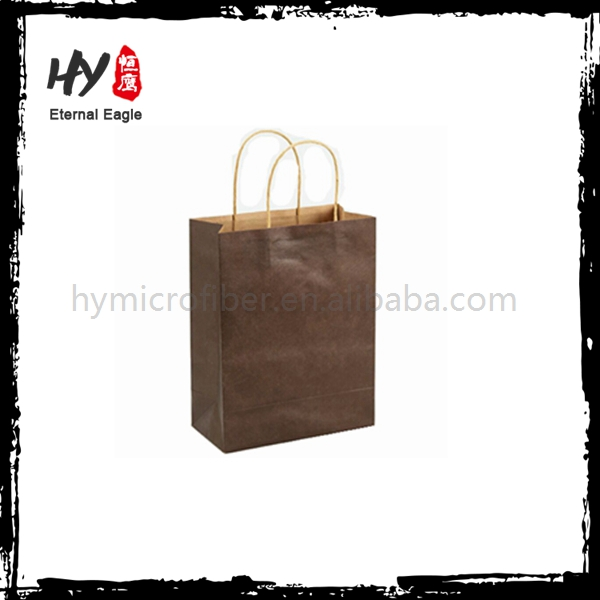 Multifunctional fully stocked paper shopping bag with low price