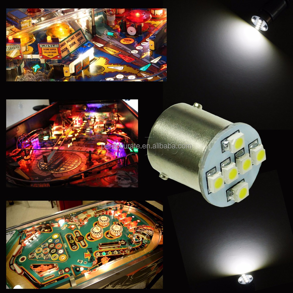 Newest CE Certification Auto LED for Pinball Machine Light 3258 LED #44 Ba9s BA15S 1156 wholesale price PA