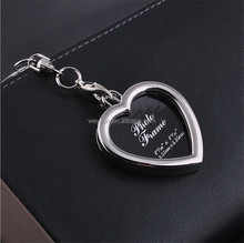 Mini Creative Metal Alloy Insert Photo Picture Frame Keyring llaveros Keychain Gift 5 Styles