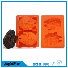 Factory Price Wholesale Silicone Wars Death Star Ice Cube Tray