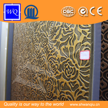 3D Embossed pvc panels for interior wall decorations