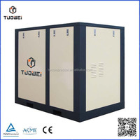 master power compressor with refrigerated dryer 926 SCFM of compressed @ 100 PSI double screw air compressor