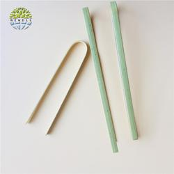 Bamboo special discount food tweezers with customize logo