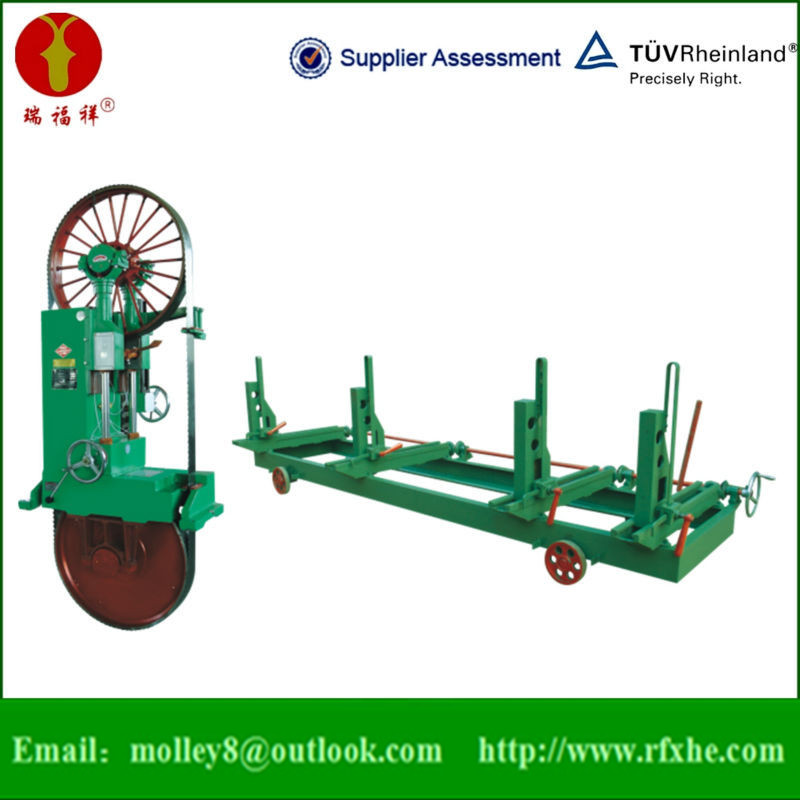 High Speed Automatic Wood Band Saw Sawmill Vertical Machinery