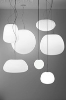 Hot sale!Hand blown glass ball white pendant lights made in China