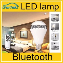 WIRELESS BLUETOOTH 4.0 SMART LED LIGHT BULB SPEAKER ANDROID + IOS E27