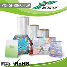 Blow Molding Processing Type paper box packaging POFshrink wrap