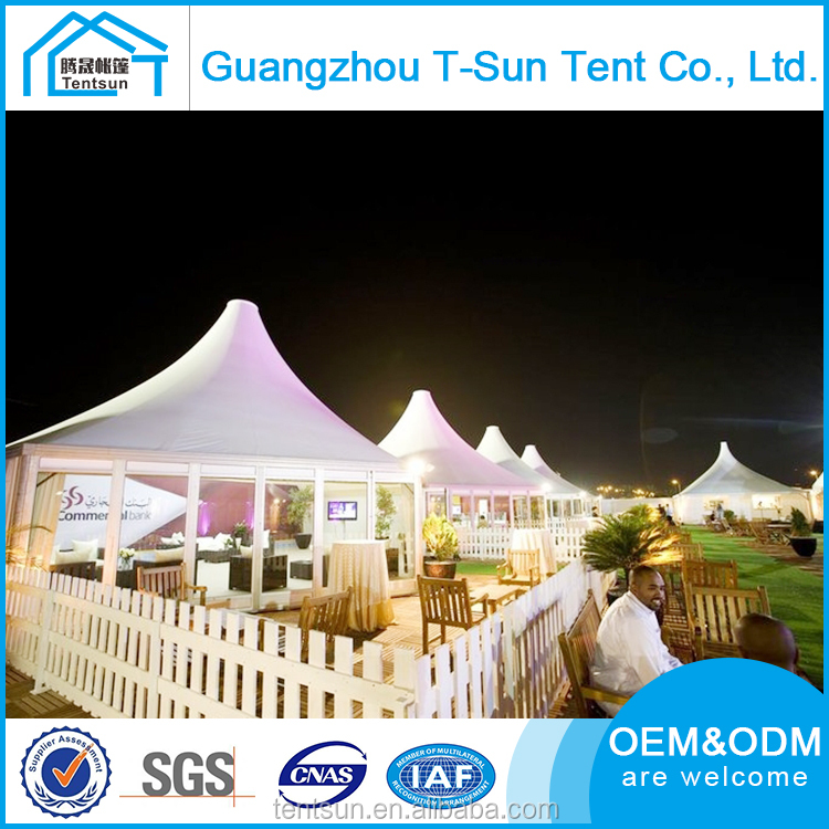 Customized Promotional unique folding gazebo bell car pagoda sun proof big outdoor party tent