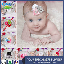 High Quality Fancy Babys Headband/Cute New Born Stretch Headband/Infant Head Flower