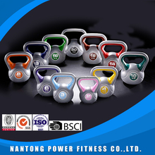 Professional Crossfit Power Training Plastic cement Kettle bells