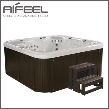 Acrylic Outdoor Hydro Massage SPA, Hot Tub for 5 Person