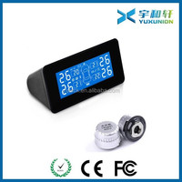 Universal Tire Pressure Sensor Monitoring System Wireless Solar Power TPMS with external sensors
