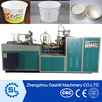 2016 Customized paper noodle bowl making machine