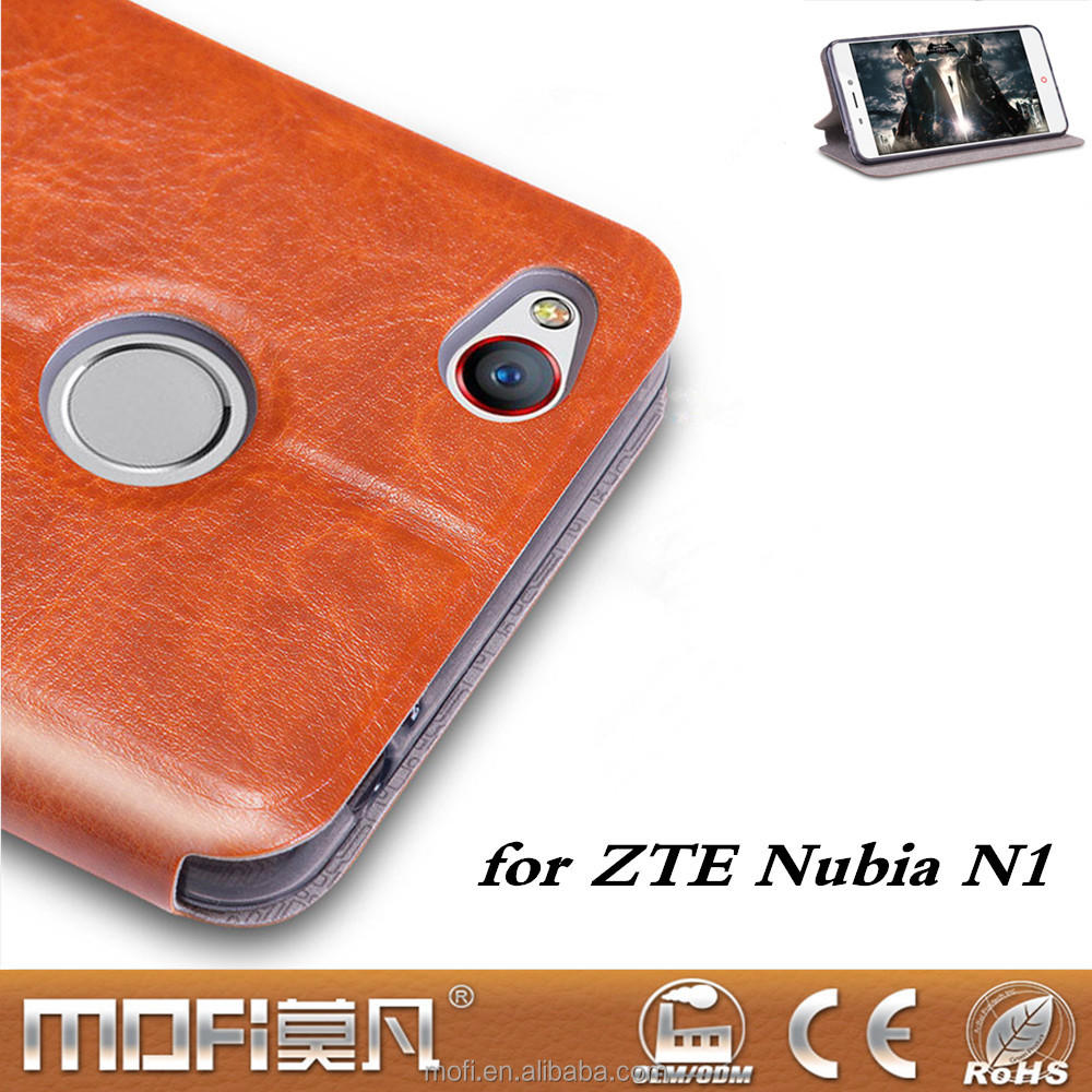 MOFi Case Original for ZTE nubia <strong>N1</strong>, Flip PU Leather Case Stand Back Cover for nubia <strong>N1</strong> Funda,Housings,Conque Factory