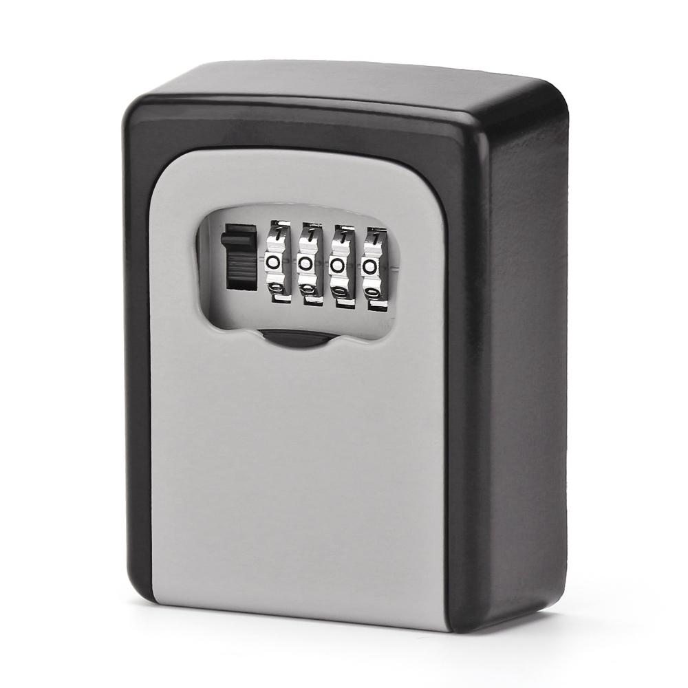 Kleidung & Accessoires Combination Lock Box Key Storage Lock Box 4-digit Combination Lock Waterproof Indoor/outdoor Crease-Resistance