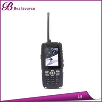 IP67 dual sim card best selling rugged phone Land rover L8 2.4inch support BT, 0.3MP camera rugged phone