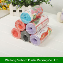 environment friendly HDPE reusable garbage bag
