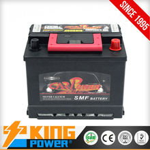 12V recycling auto battery 55040MF King Power 50AH