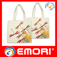 Cheap price high quality brand publicity reusable cotton shopping bag canvas tote bags