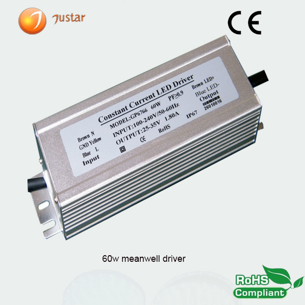100w electronic meanwell led driver module