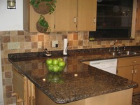high quality Baltic Brown Kitchen Countertop Granite Price made in China