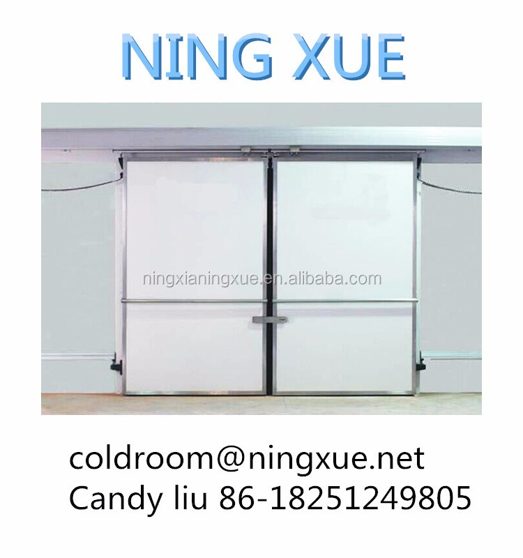aluminum sliding door for cold room