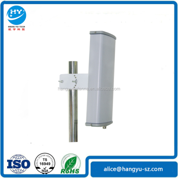 (Manufactory)Small Size 5.1-5.8G 90 Degree 16-17 dBi Dual Polarization Panel Sector antenna