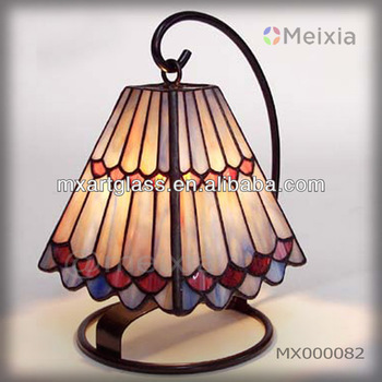 MX000082 china wholesale tiffany style mini desk lamp for home decoration item