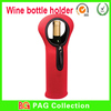 neoprene zipper wine bottle holder cooler with handle