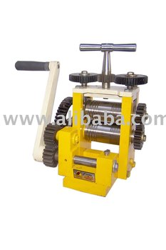 Jewelry Rolling Mill With Wire & Sheet Rollers