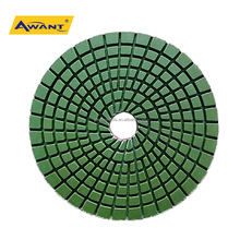 "US/EUROPE Quality 4"" Diamond Wet Polishing Pad For Granite Marble Stone"