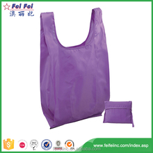 New recycle eco friendly wholesale foldable polyester shopping bag