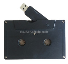 assurance order credit card & paypal accept cassette tape usb flash drive custom logo 1/32/64/128/256/512MB 1/2/4/8/16/32/64GB