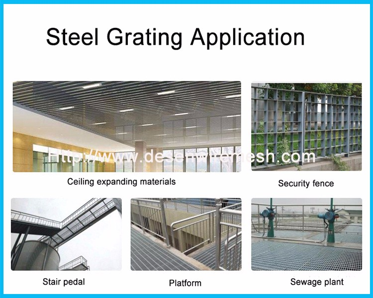 Galvanized Shaped Metal gratings