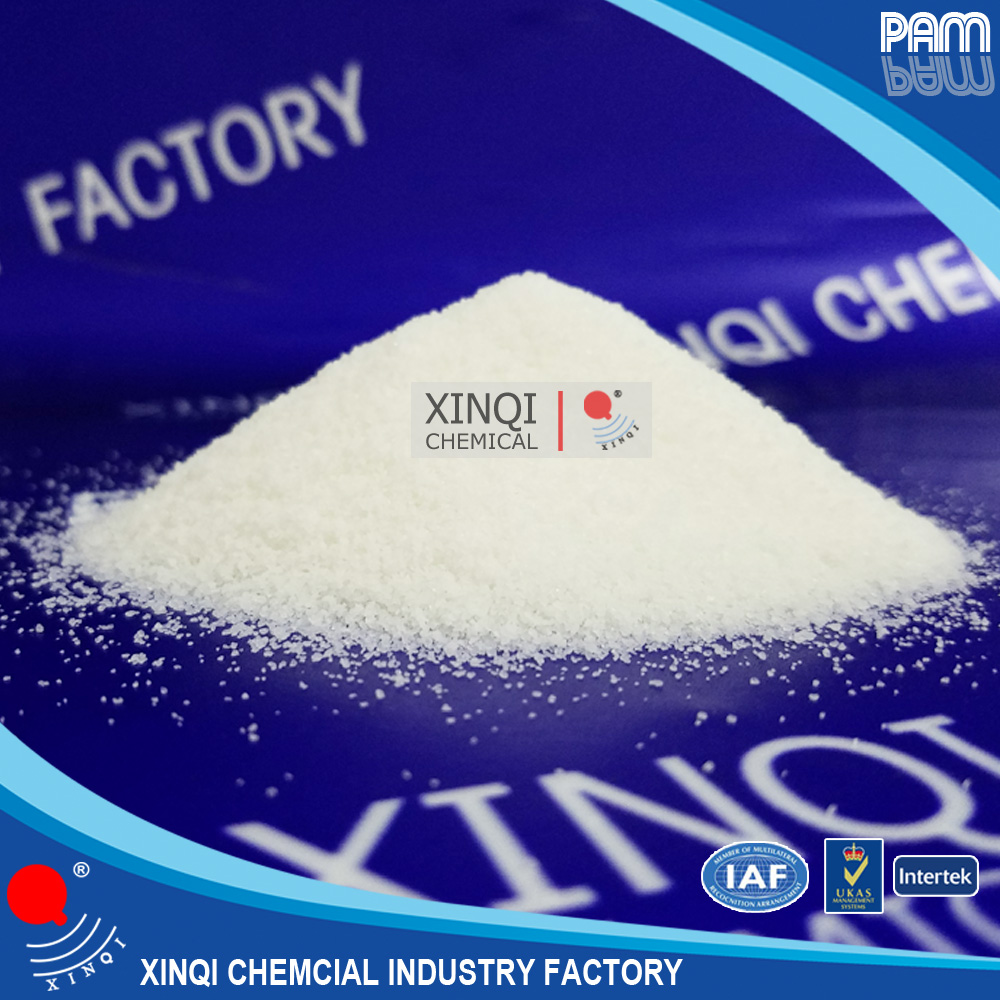 white powder chemicals for coal washing waste water treatment polyacrylamide pam