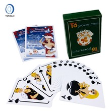 100% plastic playing cards waterproof card games poker plastic cards