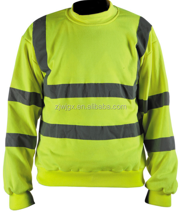 Wholesale Reflective Polo Shirt New Design Safety T Shirt
