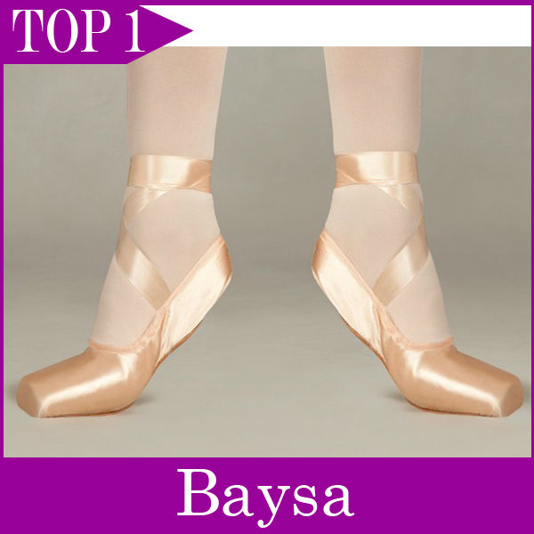 Demi Pointe w/ tapered toe box ballet pointe shoes for sale PD005