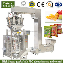 Potato Chips Packing Machine , Automatic Packing Machine , potato chips packaging machine