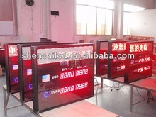 2.3 inch electronic exchange rate display board