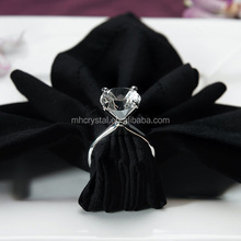 crystal napkin ring for wedding MH-9055
