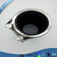 MF Multi fuction flexible stainless steel/pvc pipe leak repair /sealing clamp pvc pipe repair clamp