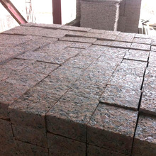 Customized Size Decoration Rough Red Granite G562 Blocks